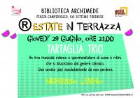 (R)ESTATE IN TERRAZZA 2017 - TARTAGLIA TRIO